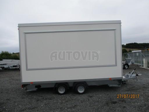Přívěsný vozík (prodejní stánek) EW 2,5T 4,10x2,20/2,30 č.12