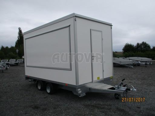 Přívěsný vozík (prodejní stánek) EW 2,5T 4,10x2,20/2,30 č.13