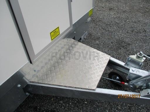 Přívěsný vozík (prodejní stánek) EW 2,5T 4,10x2,20/2,30 č.14