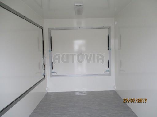 Přívěsný vozík (prodejní stánek) EW 2,5T 4,10x2,20/2,30 č.16