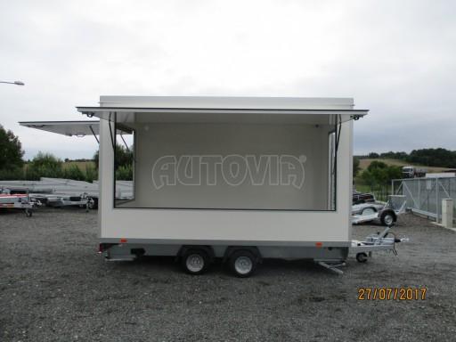 Přívěsný vozík (prodejní stánek) EW 2,5T 4,10x2,20/2,30 č.25