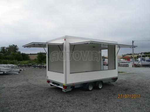 Přívěsný vozík (prodejní stánek) EW 2,5T 4,10x2,20/2,30 č.26
