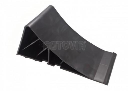 Zakládací klín plastový černý č.1