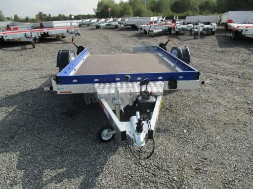 Sklápěcí přívěs HS 750kg 2,72x1,61 modrý č.2