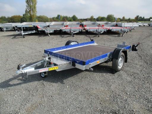 Sklápěcí přívěs HS 750kg 2,72x1,61 modrý č.3
