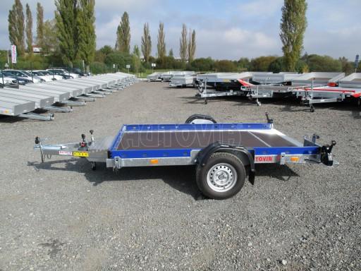Sklápěcí přívěs HS 750kg 2,72x1,61 modrý č.4