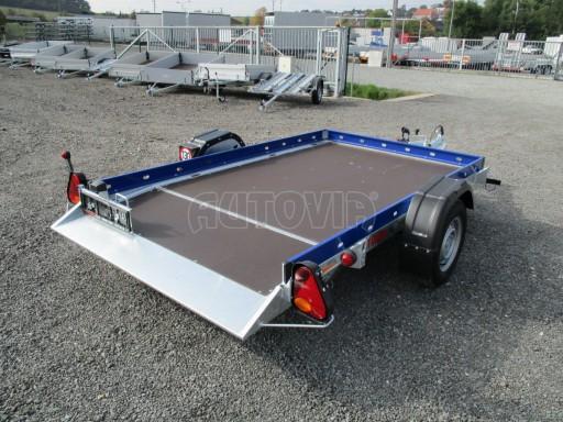 Sklápěcí přívěs HS 750kg 2,72x1,61 modrý č.6