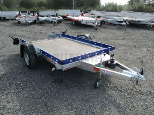 Sklápěcí přívěs HS 750kg 2,72x1,61 modrý č.8