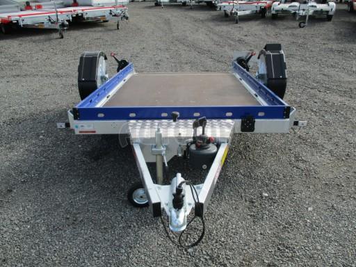Sklápěcí přívěs HS 750kg 2,72x1,61 modrý č.9
