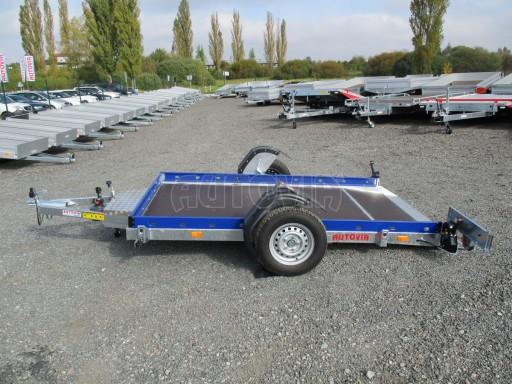 Sklápěcí přívěs HS 750kg 2,72x1,61 modrý č.10
