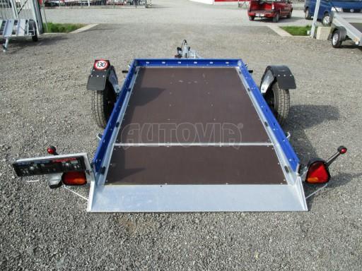 Sklápěcí přívěs HS 750kg 2,72x1,61 modrý č.11