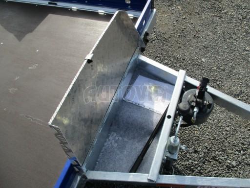 Sklápěcí přívěs HS 750kg 2,72x1,61 modrý č.13