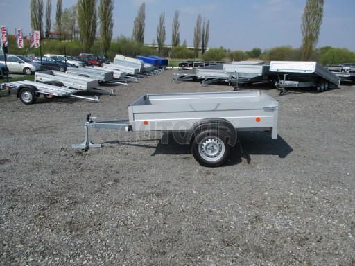 Nejlevnější přívěs za osobní auto HD 7 750kg 2,06x1,26/0,35 č.4
