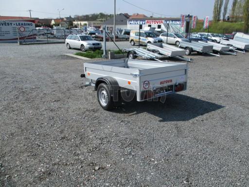 Nejlevnější přívěs za osobní auto HD 7 750kg 2,06x1,26/0,35 č.5
