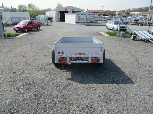 Nejlevnější přívěs za osobní auto HD 7 750kg 2,06x1,26/0,35 č.6