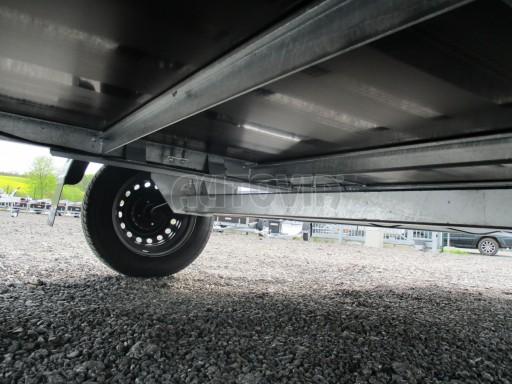 Přívěsný vozík za auto ZV 31 750kg N1 3,01x1,54/0,30 zes.náprava POČ** č.5