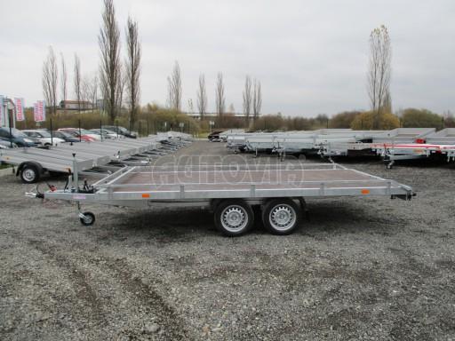 JMB 2,7T 4,20x2,10 hydraulicky sklopné plato**RE č.35