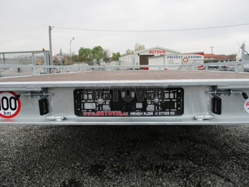 JMB 2,7T 4,20x2,10 hydraulicky sklopné plato**RE č.42