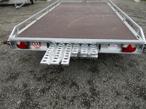 JMB 2,7T 4,20x2,10 hydraulicky sklopné plato**RE č.13