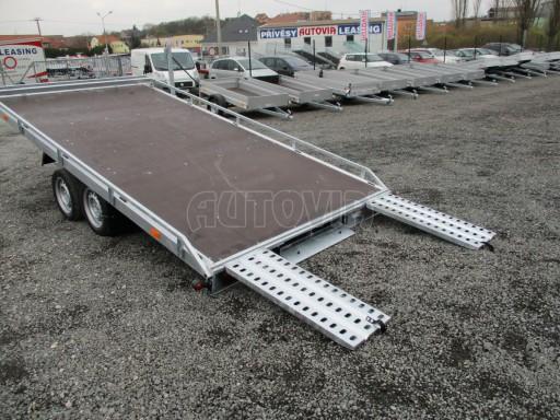 JMB 2,7T 4,20x2,10 hydraulicky sklopné plato**RE č.46