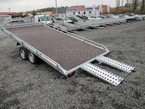 JMB 2,7T 4,20x2,10 hydraulicky sklopné plato**RE č.16