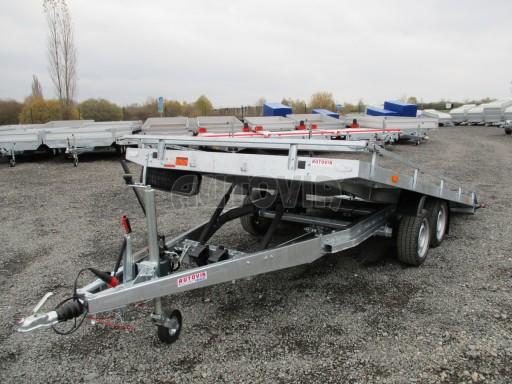 JMB 2,7T 4,20x2,10 hydraulicky sklopné plato**RE č.53
