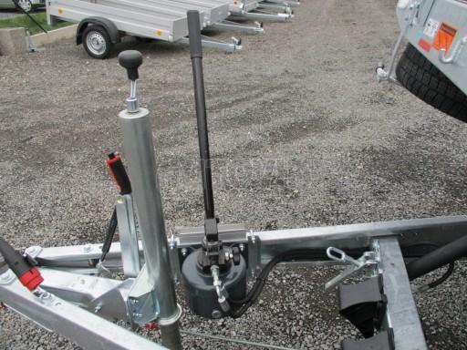 JMB 2,7T 4,20x2,10 hydraulicky sklopné plato**RE č.55