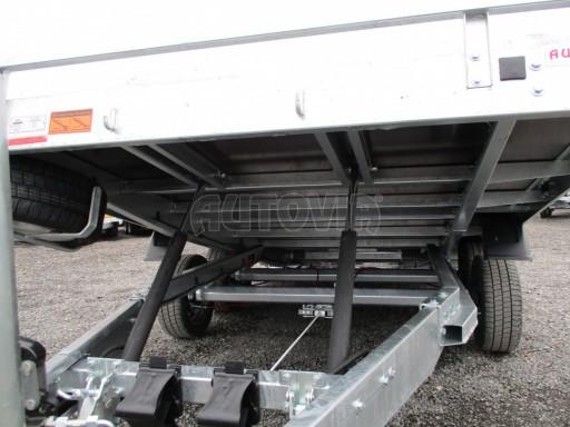 JMB 2,7T 4,20x2,10 hydraulicky sklopné plato**RE č.56