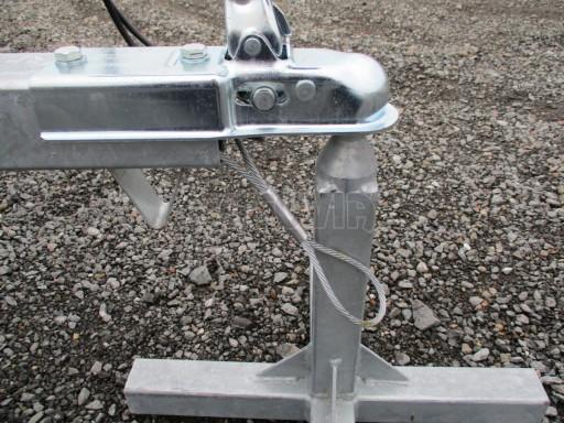 Nebrzděný přívěs - PZ LPA 750kg 3,01/1,50/0,34 č.9