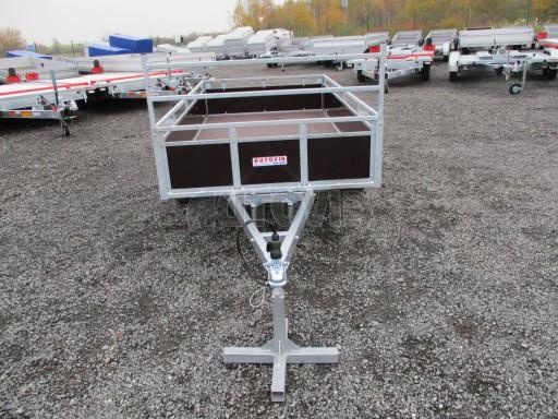 Nebrzděný sklopný přívěs - PZ LPA 750kg 2,50/1,27/0,30 č.2