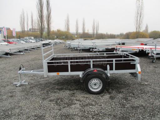 Nebrzděný sklopný přívěs - PZ LPA 750kg 2,50/1,27/0,30 č.4