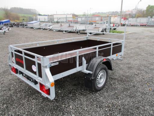 Nebrzděný sklopný přívěs - PZ LPA 750kg 2,24/1,27/0,30 č.8