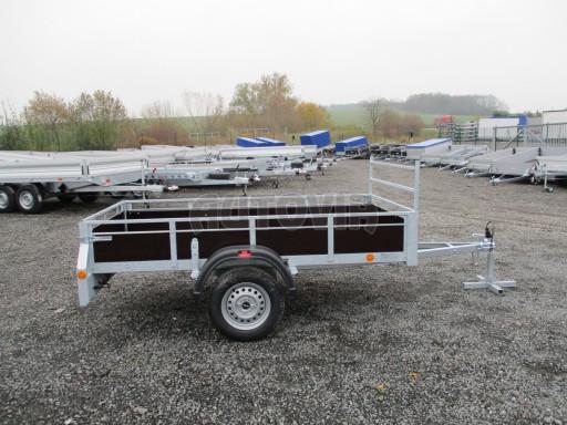 Nebrzděný sklopný přívěs - PZ LPA 750kg 2,50/1,27/0,30 č.8