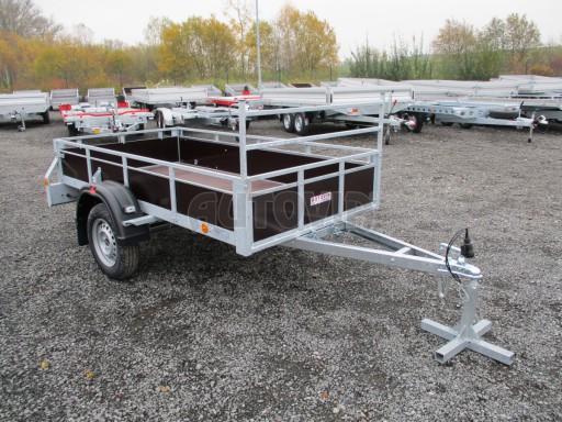 Nebrzděný sklopný přívěs - PZ LPA 750kg 2,50/1,27/0,30 č.9