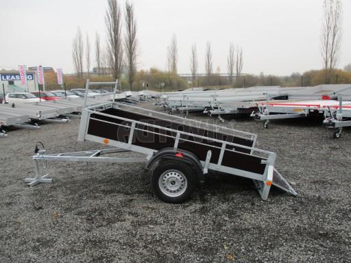 Nebrzděný sklopný přívěs - PZ LPA 750kg 2,24/1,27/0,30 č.11