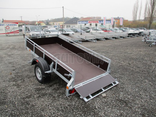 Nebrzděný sklopný přívěs - PZ LPA 750kg 2,50/1,27/0,30 č.11
