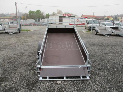 Nebrzděný sklopný přívěs - PZ LPA 750kg 2,50/1,27/0,30 č.12