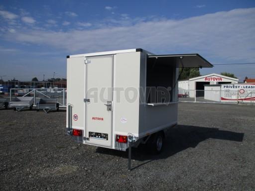 Prodejní izolovaný stánek VA 1,3T 2,93x1,93/2,00 č.4