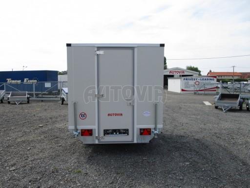 Prodejní izolovaný stánek VA 1,3T 2,93x1,93/2,00 č.11