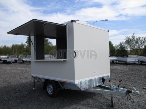 Prodejní izolovaný stánek VA 1,3T 2,93x1,93/2,00 č.1
