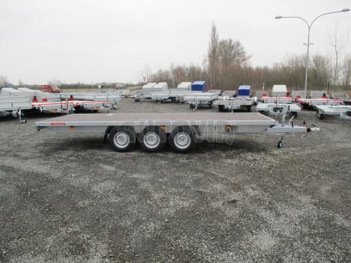 Třínápravový nákladní přívěs DN 3,5T B3 5,75x2,20*plato 1350 č.2