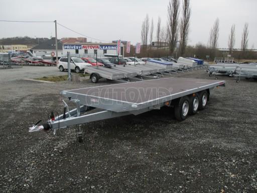 Třínápravový nákladní přívěs DN 3,5T B3 5,75x2,20*plato 1350 č.4