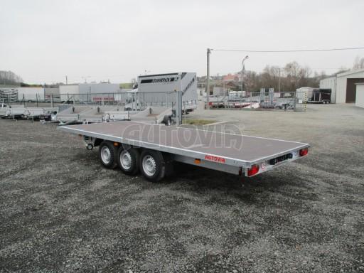 Třínápravový nákladní přívěs DN 3,5T B3 5,75x2,20*plato 1350 č.6