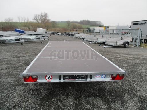 Třínápravový nákladní přívěs DN 3,5T B3 5,75x2,20*plato 1350 č.7