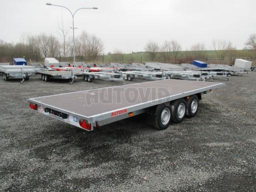 Třínápravový nákladní přívěs DN 3,5T B3 5,75x2,20*plato 1350 č.8