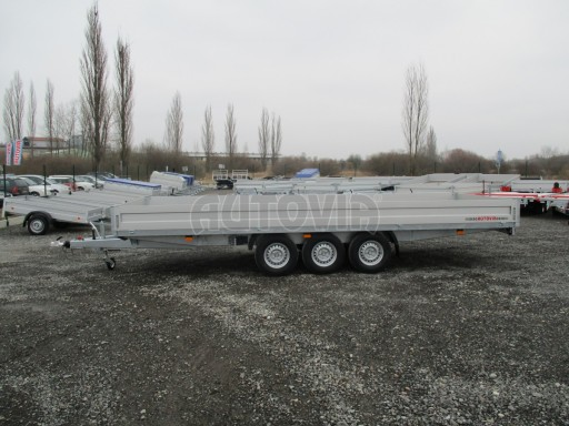 Třínápravový nákladní přívěs DN 3,5T B3 5,75x2,20/0,35*1350 č.3