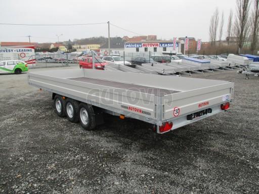 Třínápravový nákladní přívěs DN 3,5T B3 5,75x2,20/0,35*1350 č.4