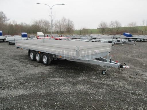 Třínápravový nákladní přívěs DN 3,5T B3 5,75x2,20/0,35*1350 č.8
