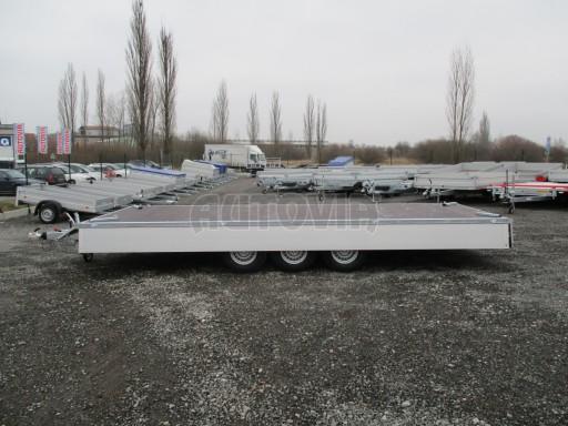 Třínápravový nákladní přívěs DN 3,5T B3 5,75x2,20/0,35*1350 č.9