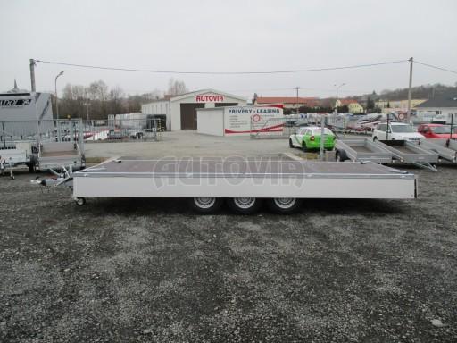 Třínápravový nákladní přívěs DN 3,5T B3 5,75x2,20/0,35*1350 č.15